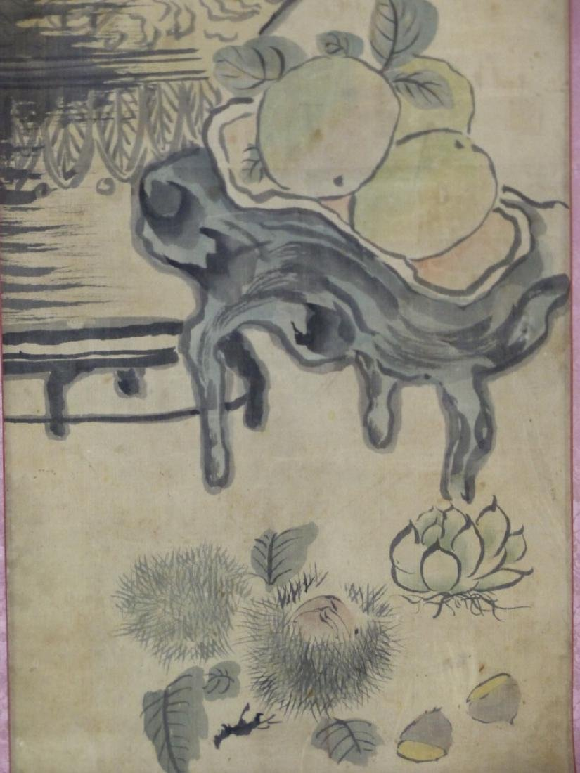 CHINESE WATERCOLOR PAINTING SCROLL - 4