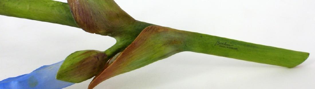 BOEHM PORCELAIN LONG STEMMED IRIS FLOWER - 2