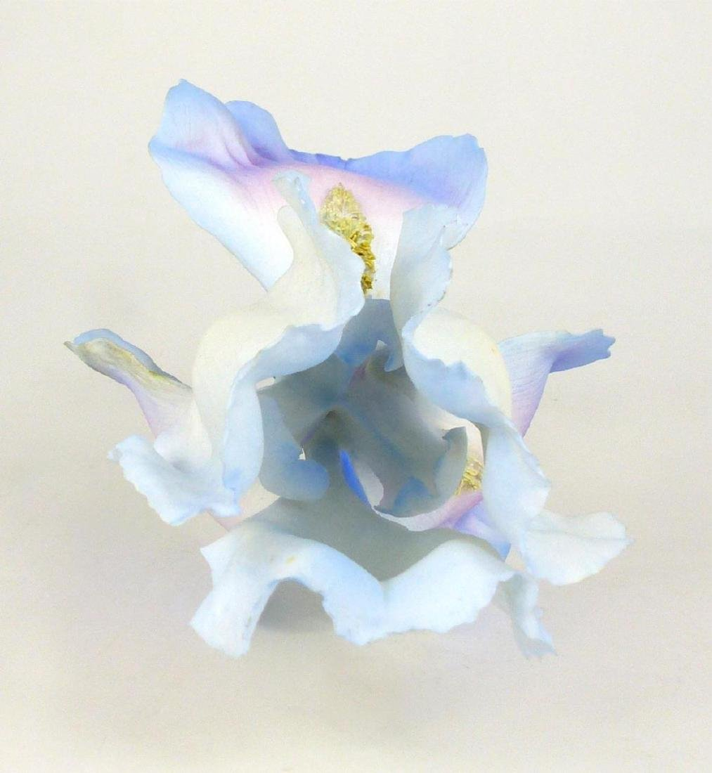 BOEHM PORCELAIN LONG STEMMED IRIS FLOWER - 3