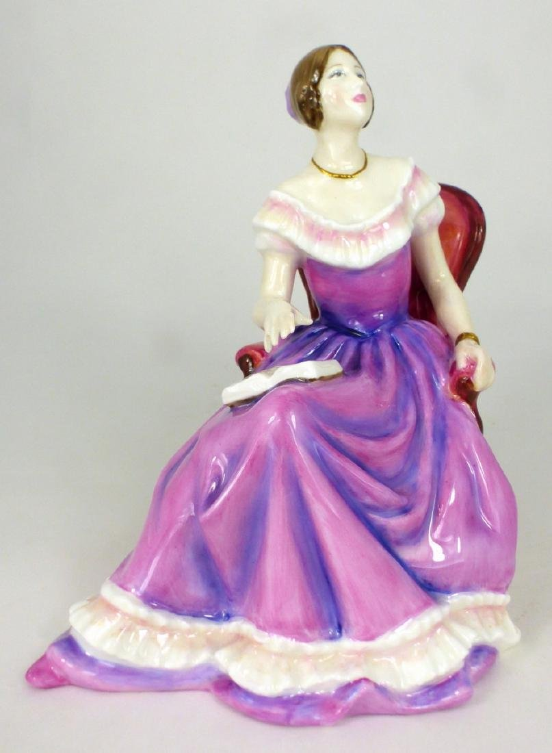 ROYAL DOULTON 'THE YOUNG QUEEN VICTORIA' FIGURINE
