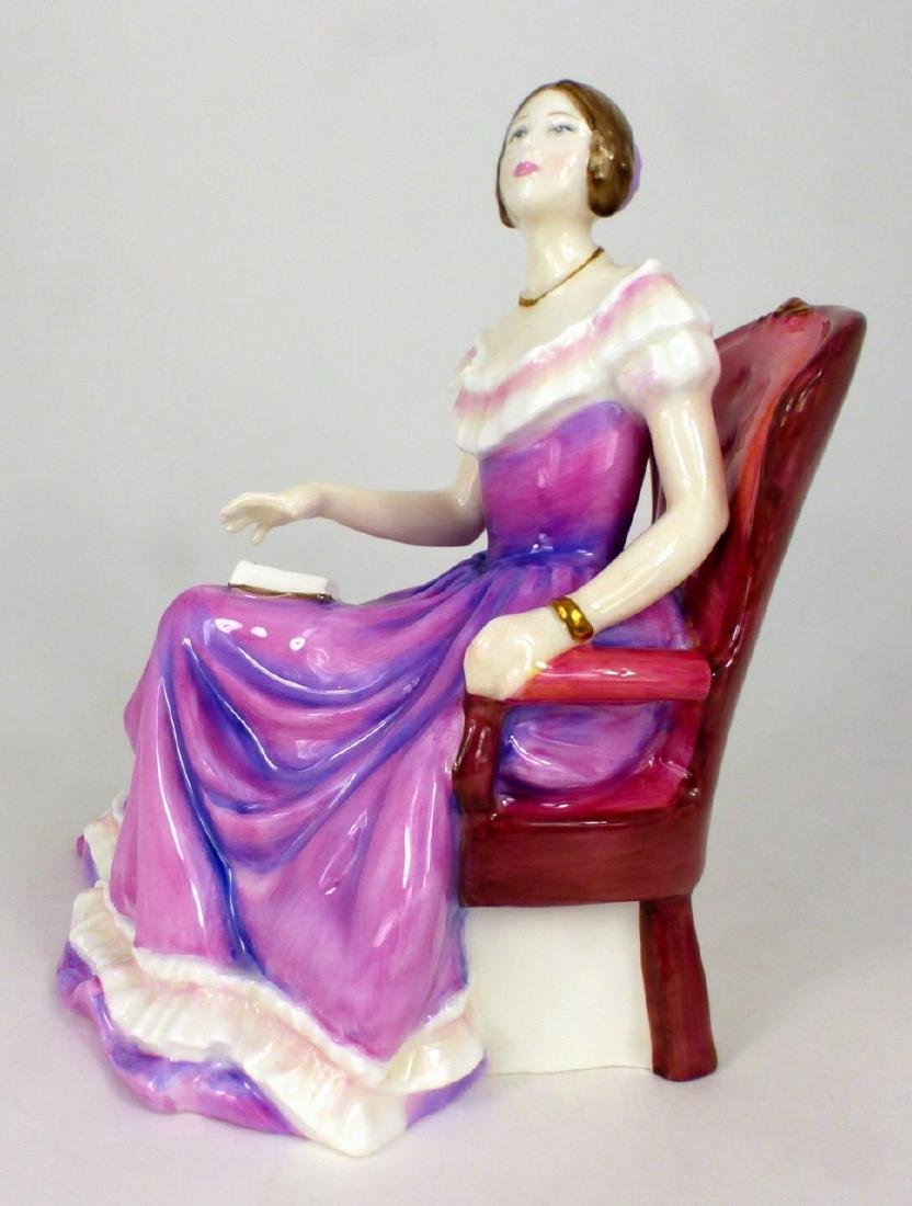 ROYAL DOULTON 'THE YOUNG QUEEN VICTORIA' FIGURINE - 2