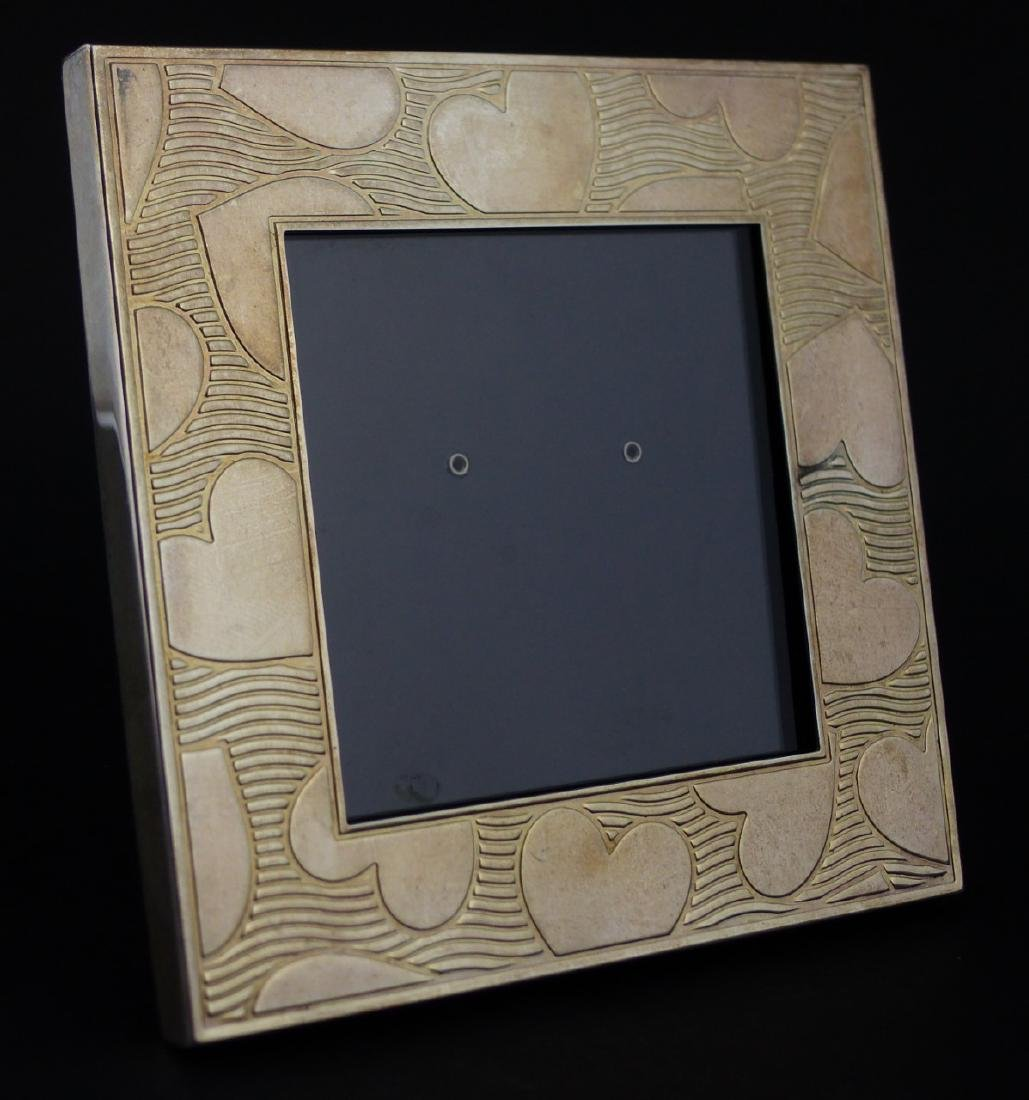 2pc TIFFANY & CO STERLING SILVER PICTURE FRAMES - 5