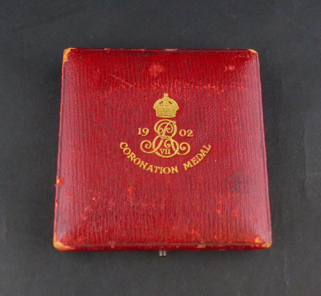 EDWARD VII CORONATION 1902 OFFICIAL BRONZE MEDAL - 4