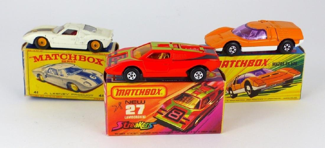 9pc MATCHBOX TOY CARS w BOXES - 2