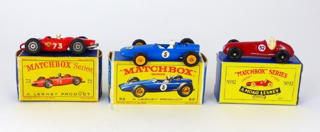 9pc MATCHBOX TOY CARS w BOXES - 3