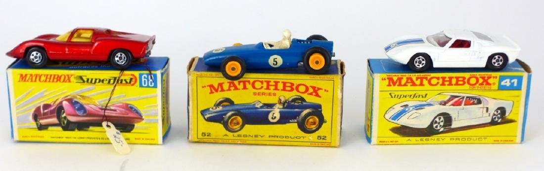 9pc MATCHBOX TOY CARS w BOXES - 4