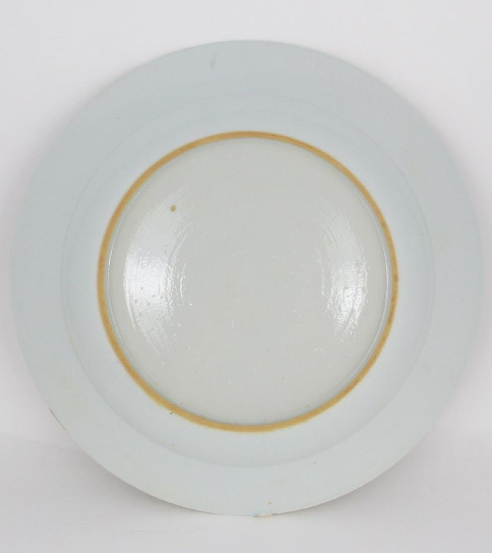 PR CHINESE EXPORT FAMILLE ROSE PORCELAIN PLATES - 4