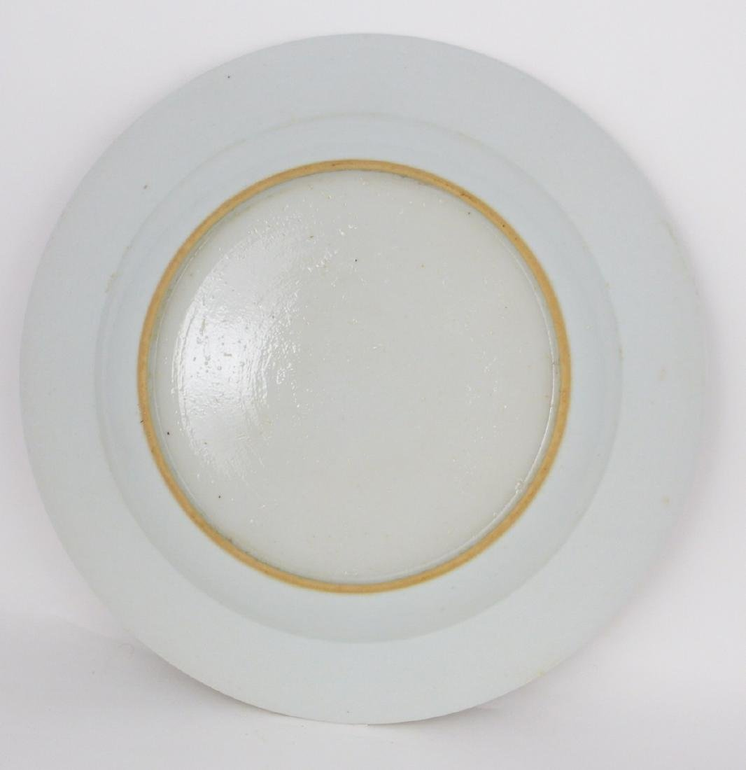 PR CHINESE EXPORT FAMILLE ROSE PORCELAIN PLATES - 7