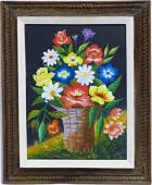 FERNAND PIERRE STILL LIFE OIL PAINTING ON CANVAS