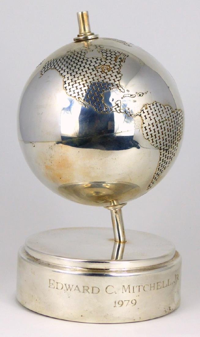 TIFFANY & CO STERLING SILVER GLOBE