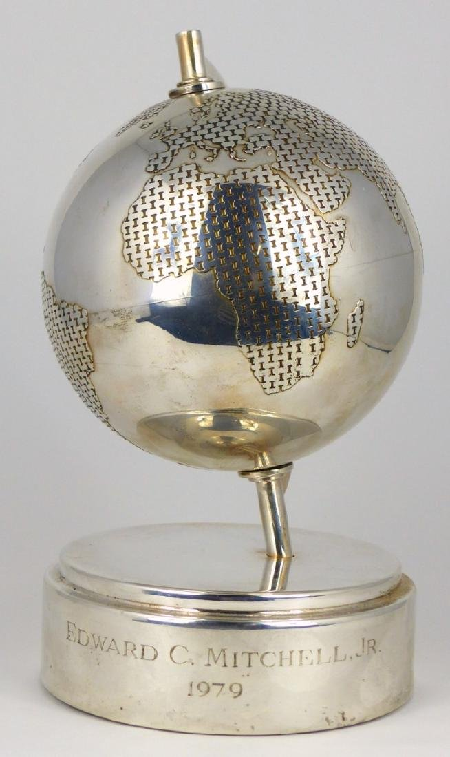TIFFANY & CO STERLING SILVER GLOBE - 2