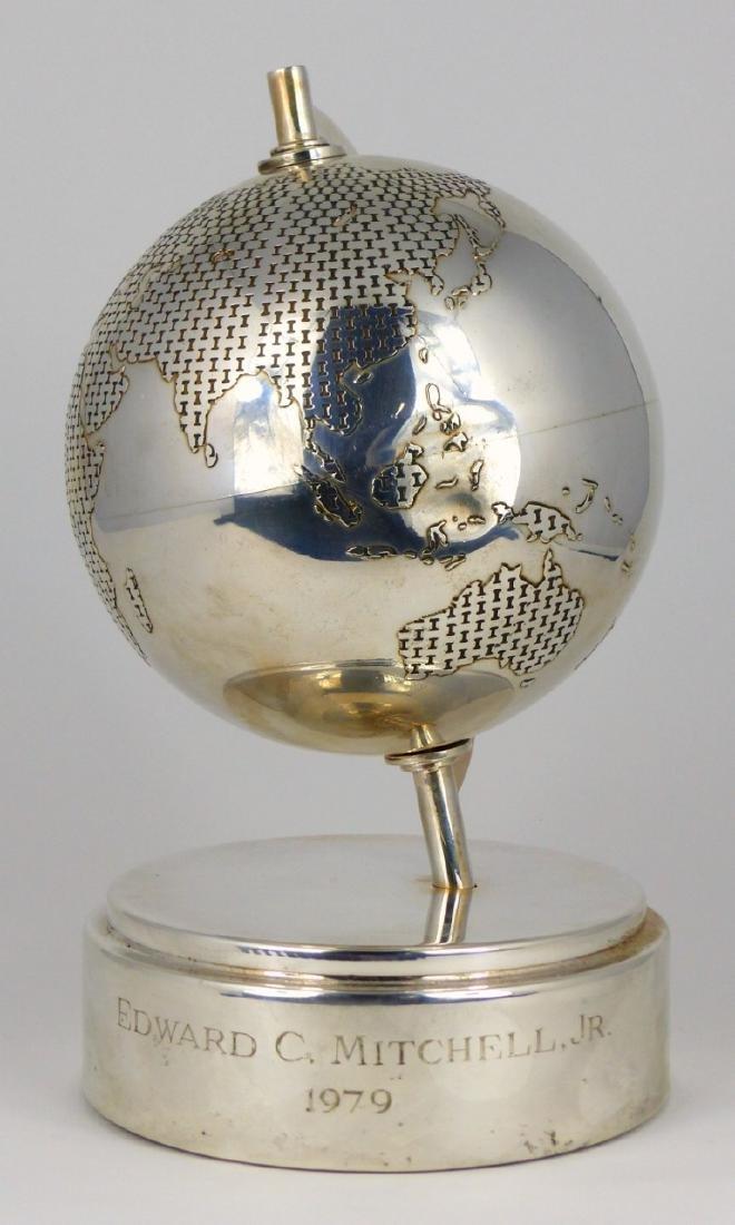 TIFFANY & CO STERLING SILVER GLOBE - 3