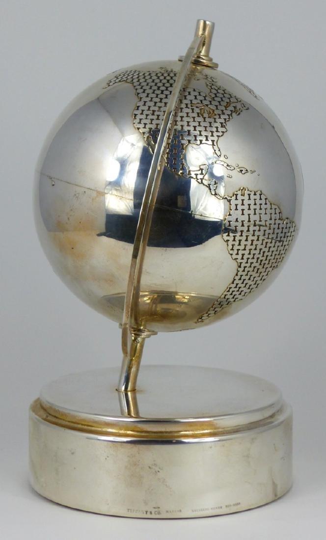 TIFFANY & CO STERLING SILVER GLOBE - 5