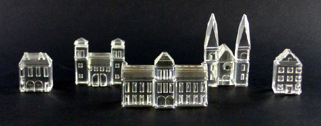 5pc SWAROVSKI CRYSTAL MINIATURE VILLAGE - 4