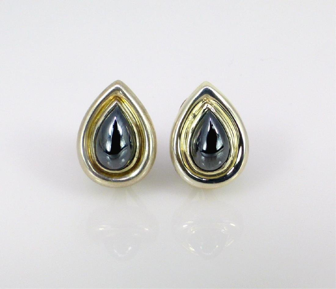 PR PALOMA PICASSO FOR TIFFANY STERLING EARRINGS