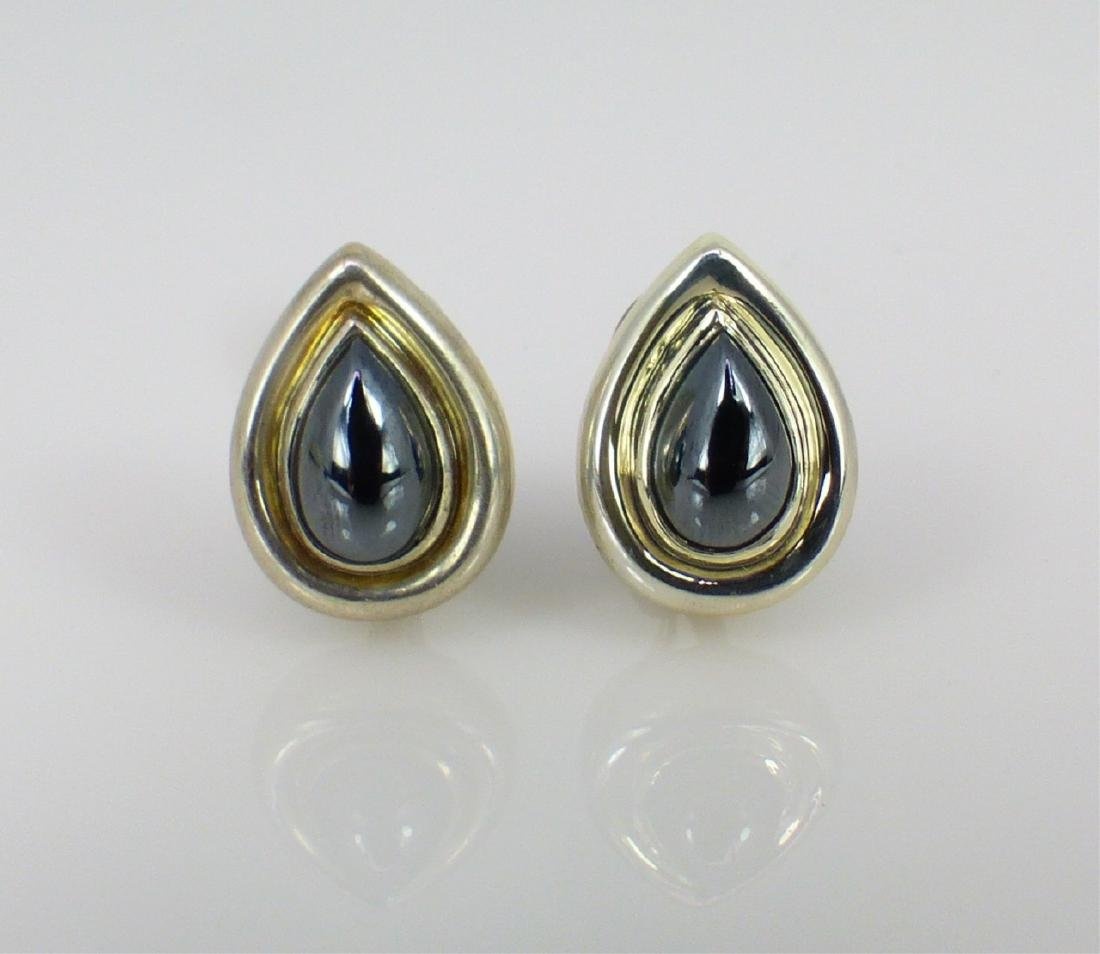 PR PALOMA PICASSO FOR TIFFANY STERLING EARRINGS - 2