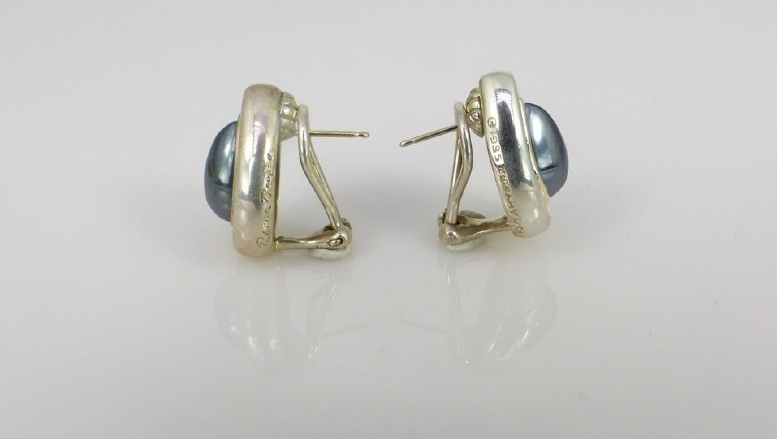 PR PALOMA PICASSO FOR TIFFANY STERLING EARRINGS - 3