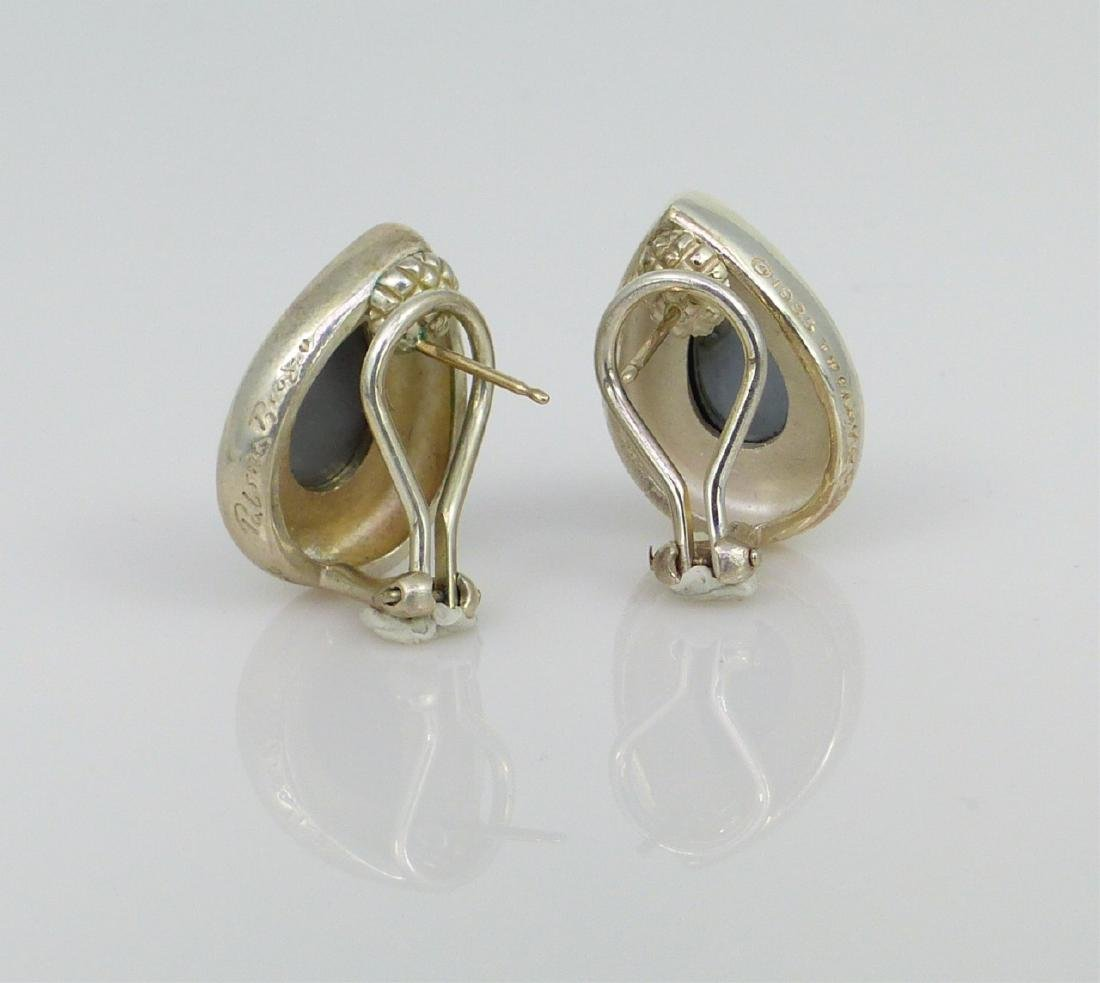 PR PALOMA PICASSO FOR TIFFANY STERLING EARRINGS - 4