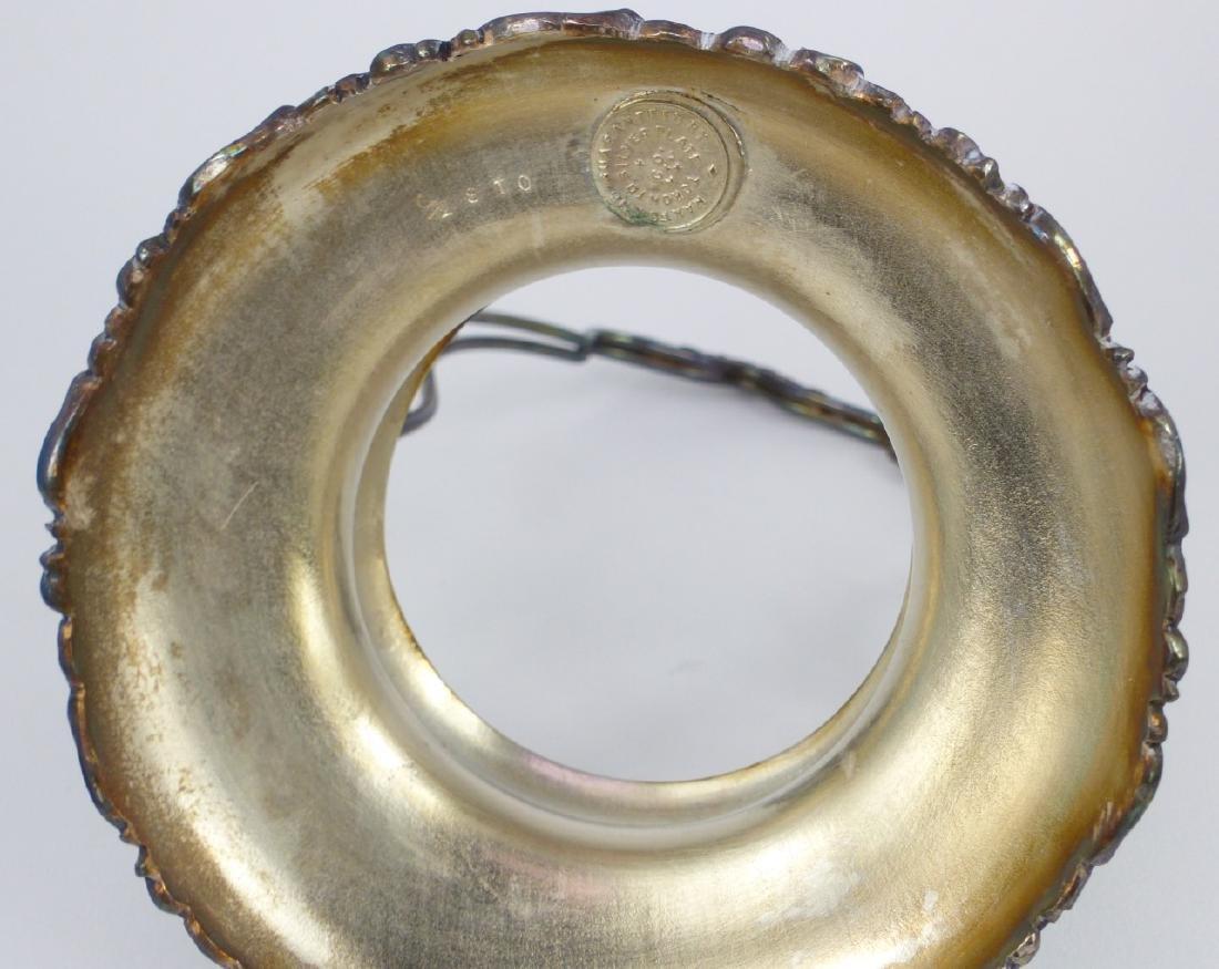 VICTORIAN COINSPOT GLASS PICKLE CASTOR - 6