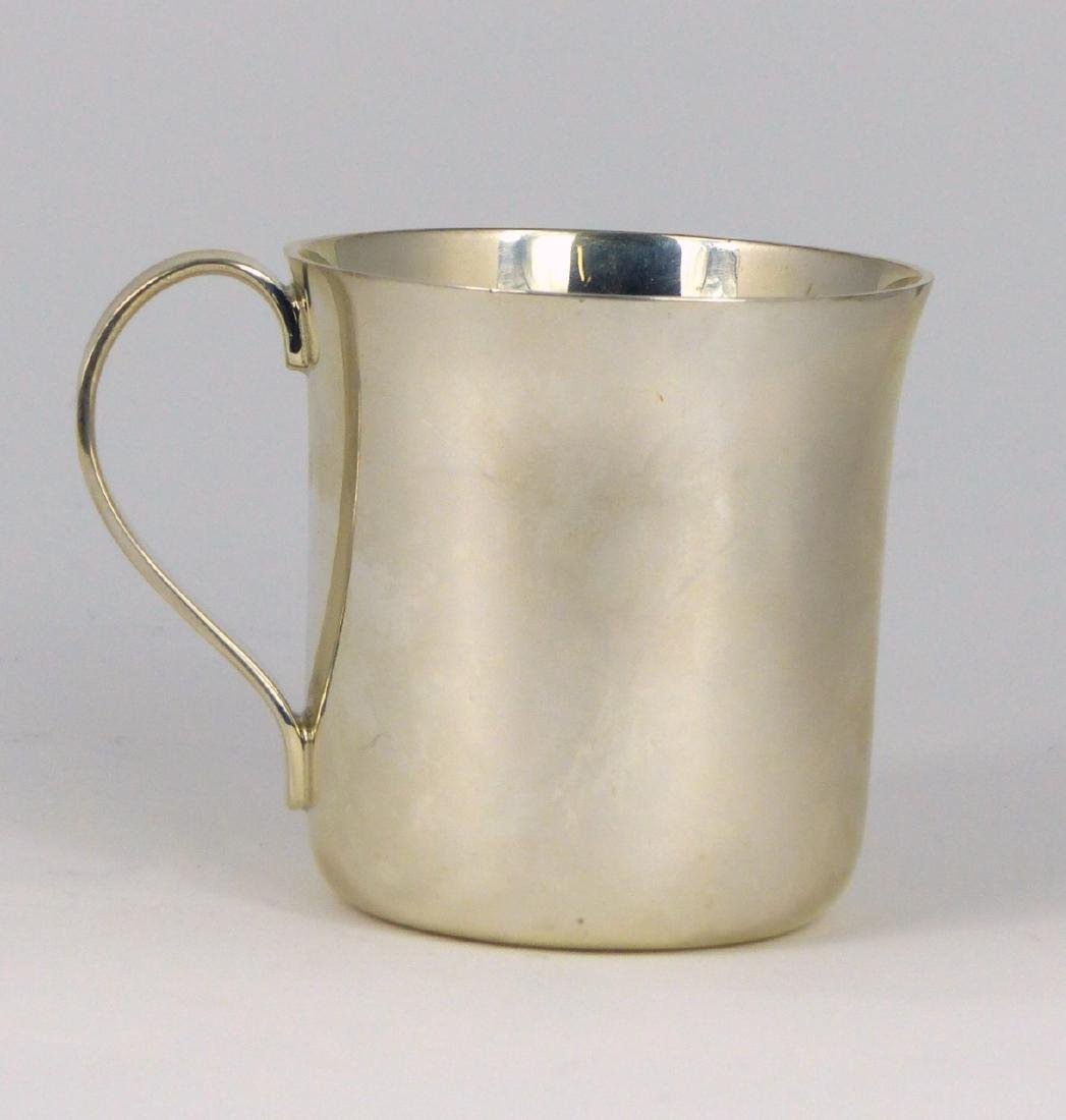 TIFFANY & CO STERLING SILVER BABY CUP