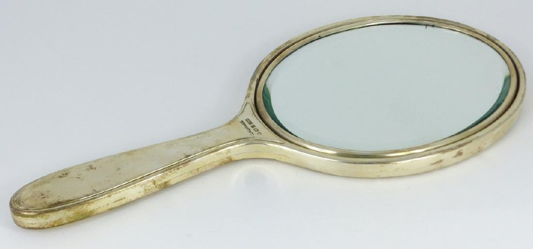 TIFFANY & CO STERLING SILVER HAND MIRROR