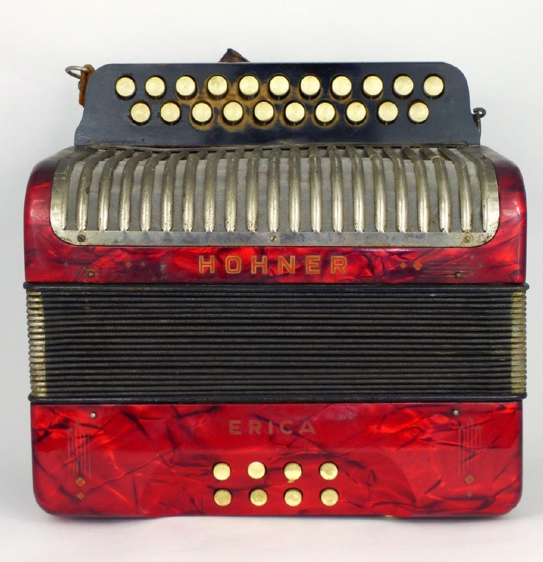 HOHNER ERICA GERMAN ACCORDION