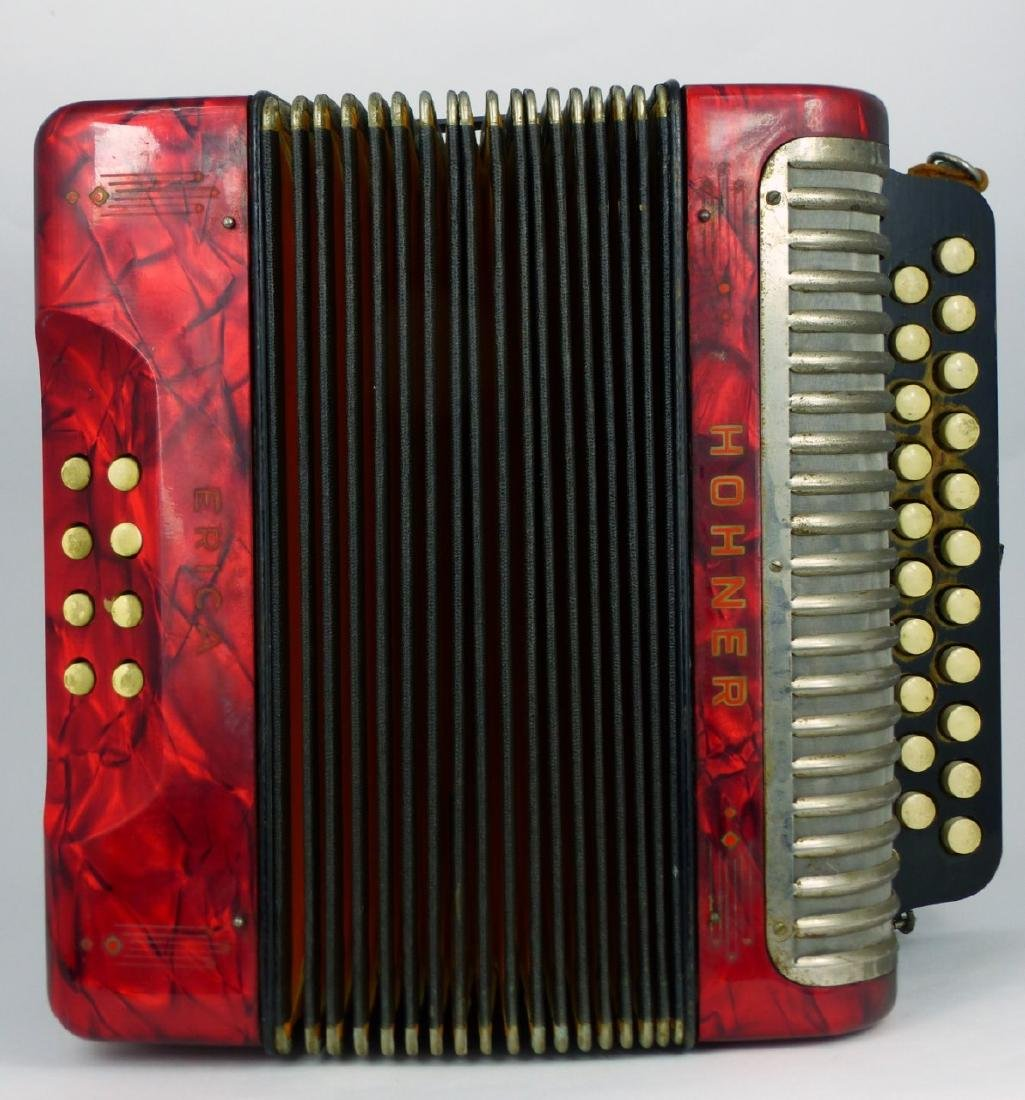 HOHNER ERICA GERMAN ACCORDION - 9