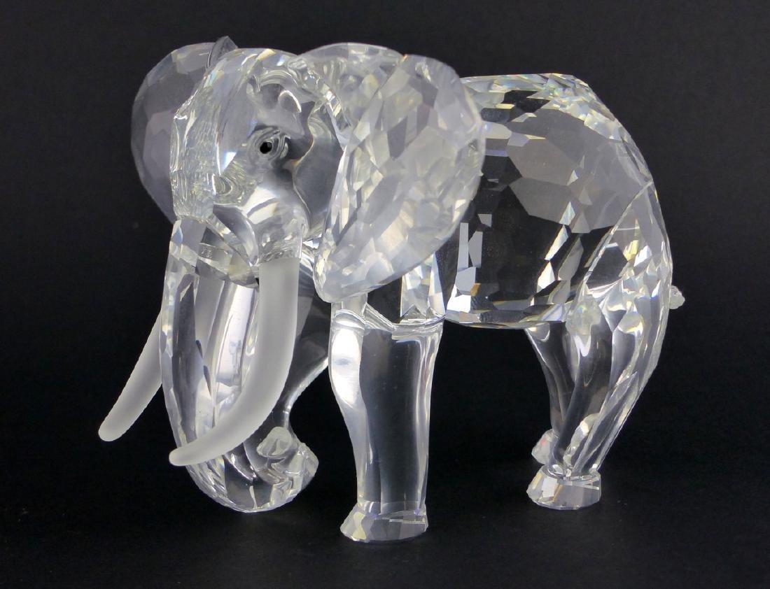 2pc SWAROVSKI CRYSTAL ELEPHANT FIGURES - 4