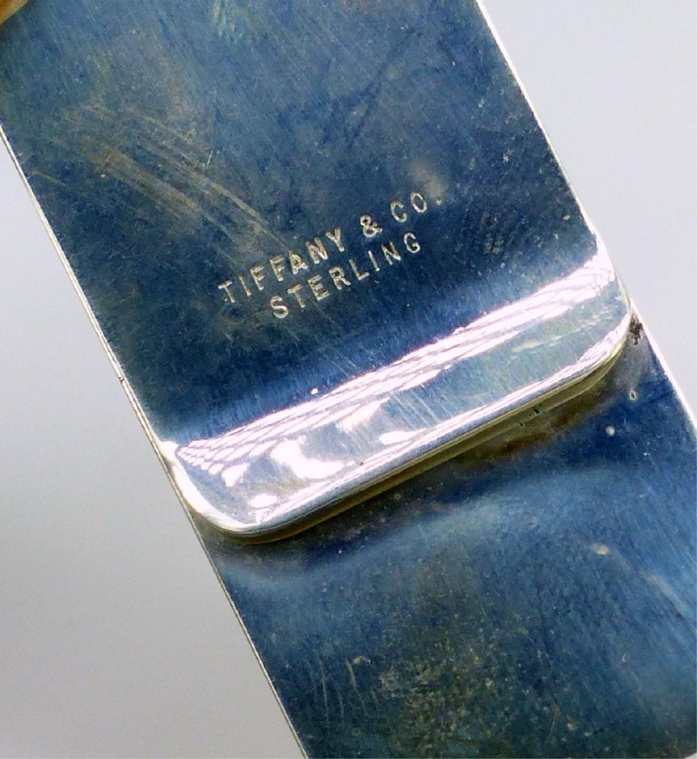 TIFFANY & CO 150th ANNIVERSARY STERLING MONEY CLIP - 3
