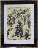MARC CHAGALL RETURN OF THE PRODIGAL SON LITHOGRAPH