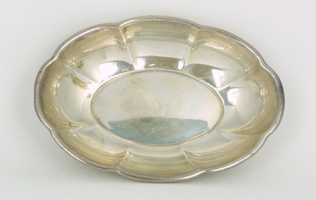 GORHAM STERLING SILVER CANDY DISH - 3