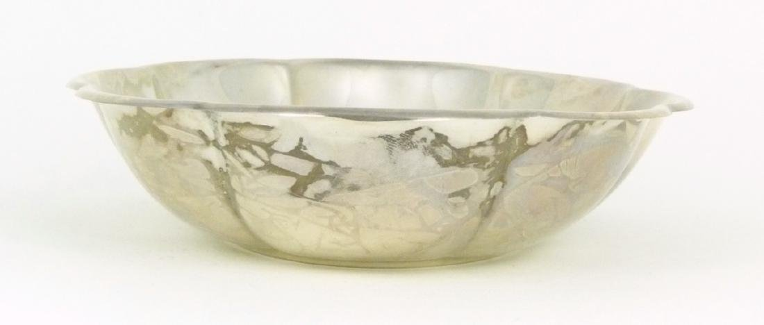 GORHAM STERLING SILVER CANDY DISH - 5