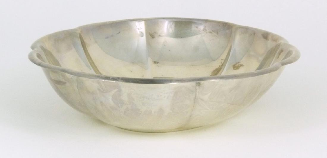 GORHAM STERLING SILVER CANDY DISH - 8