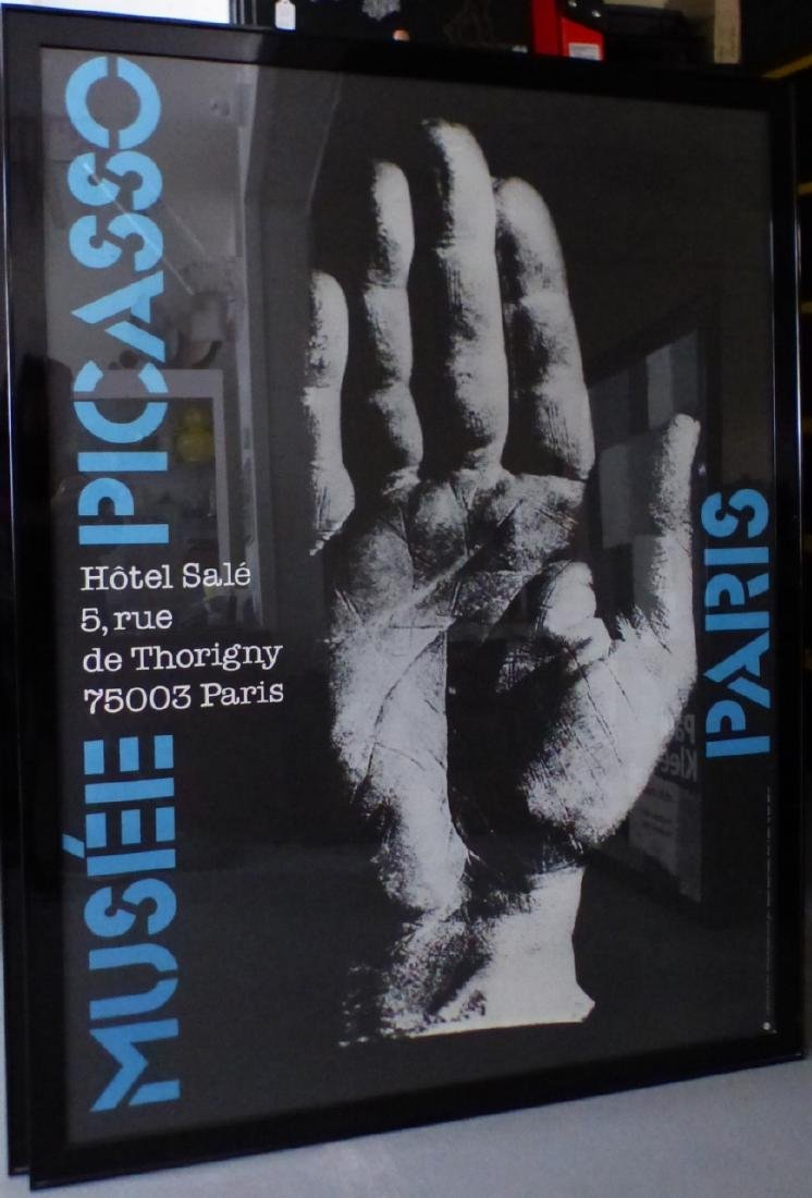 MUSEE PICASSO PARIS EXHIBITION POSTER