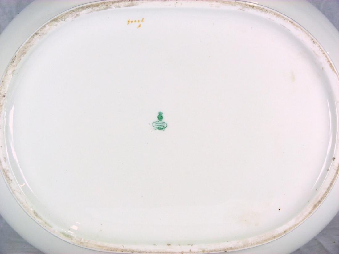 19th C MINTON PORCELAIN FOOT BATH - 5
