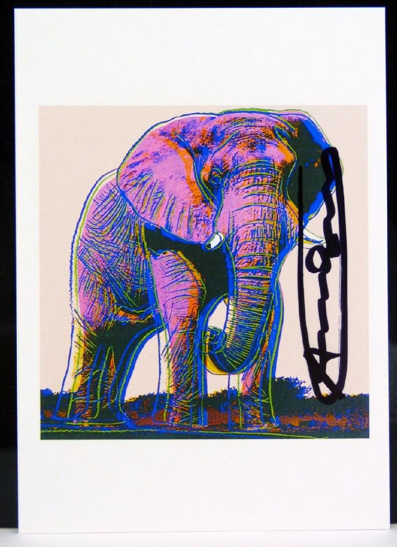 ANDY WARHOL ENDANGERED SPECIES ANNOUNCEMENT CARDS