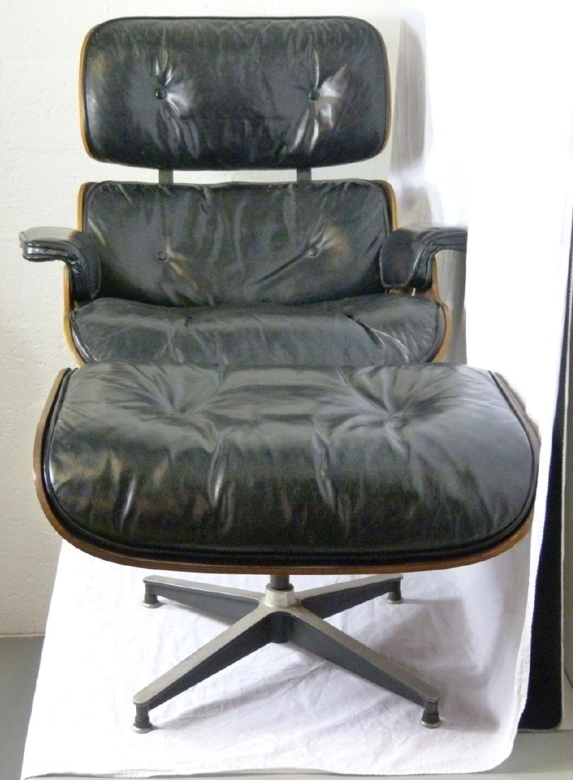 EAMES FOR HERMAN MILLER LOUNGE CHAIR & OTTOMAN - 2
