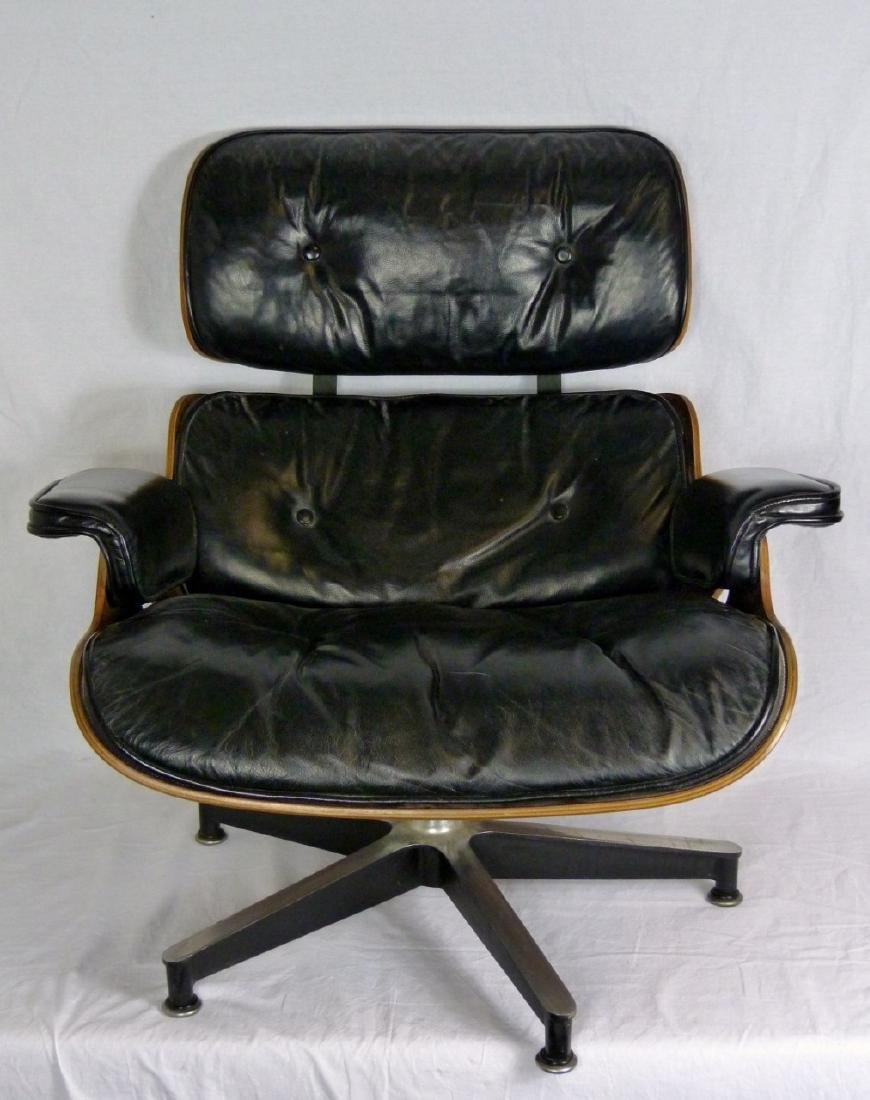 EAMES FOR HERMAN MILLER LOUNGE CHAIR & OTTOMAN - 4