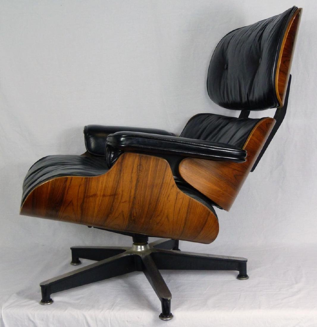 EAMES FOR HERMAN MILLER LOUNGE CHAIR & OTTOMAN - 5
