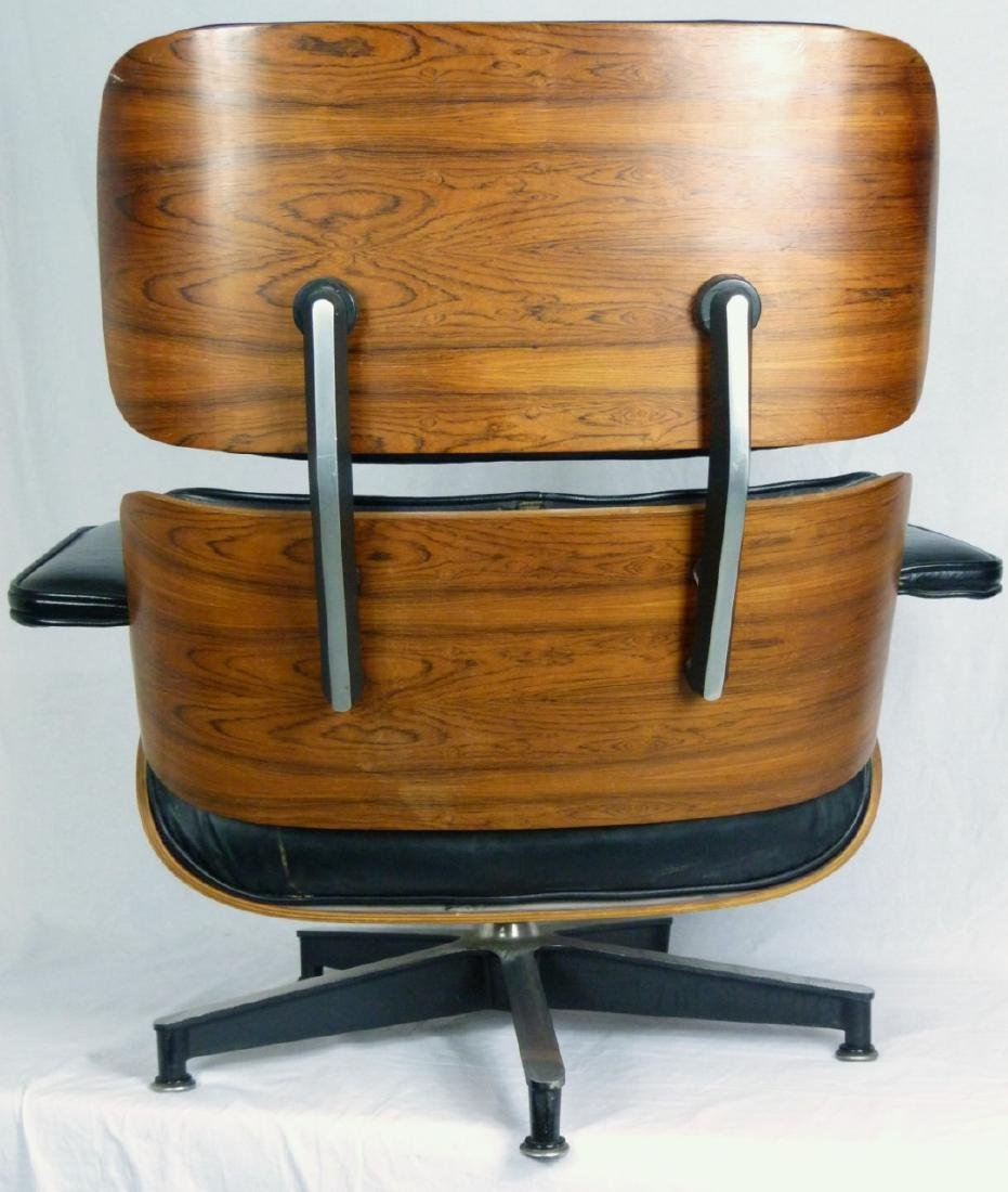 EAMES FOR HERMAN MILLER LOUNGE CHAIR & OTTOMAN - 6