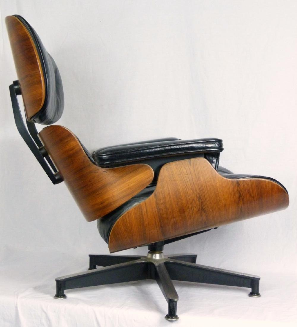 EAMES FOR HERMAN MILLER LOUNGE CHAIR & OTTOMAN - 7