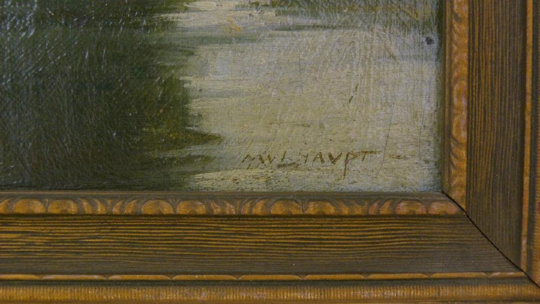 FREDERICK MULHAUPT OIL PAINTING ON BOARD - 4