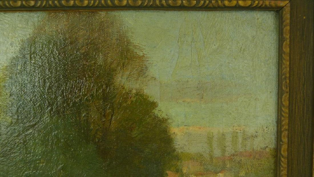 FREDERICK MULHAUPT OIL PAINTING ON BOARD - 5
