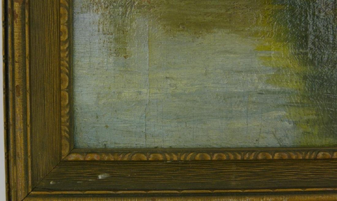 FREDERICK MULHAUPT OIL PAINTING ON BOARD - 7