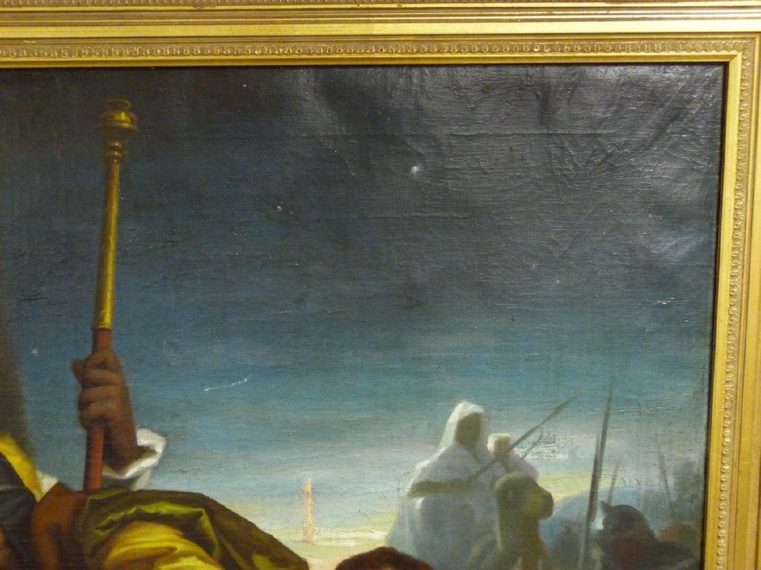 OIL PAINTING ON CANVAS AFTER MURILLO - 6
