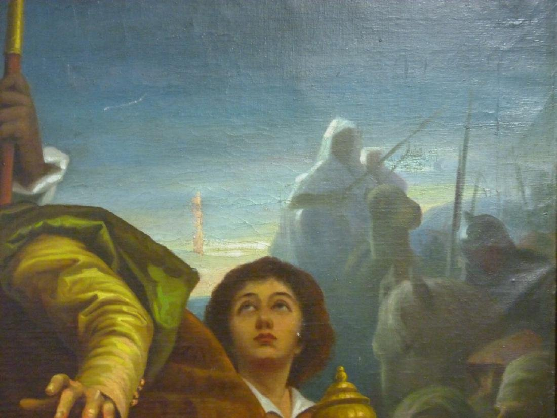 OIL PAINTING ON CANVAS AFTER MURILLO - 7