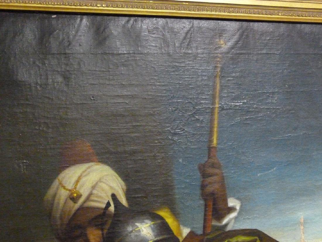 OIL PAINTING ON CANVAS AFTER MURILLO - 8