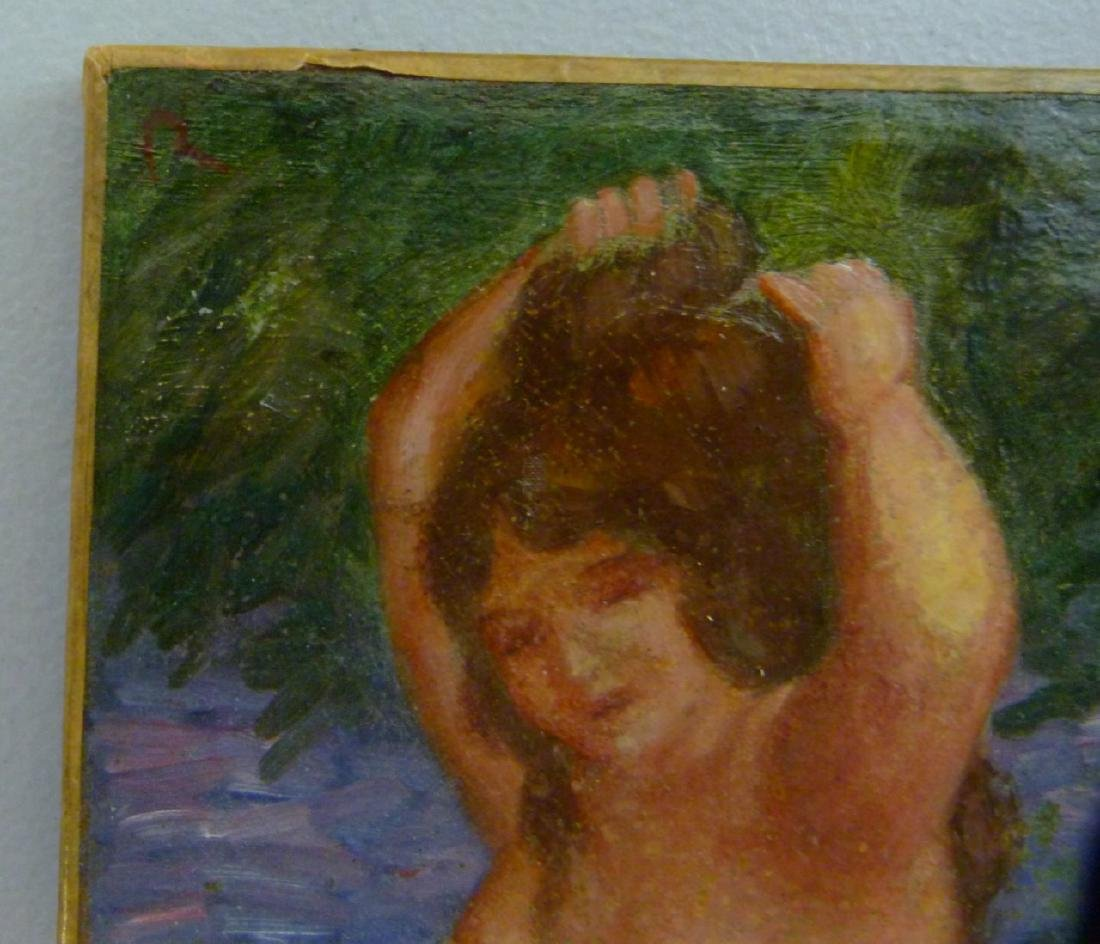 NUDE OIL PAINTING ON CANVAS AFTER RENOIR - 7
