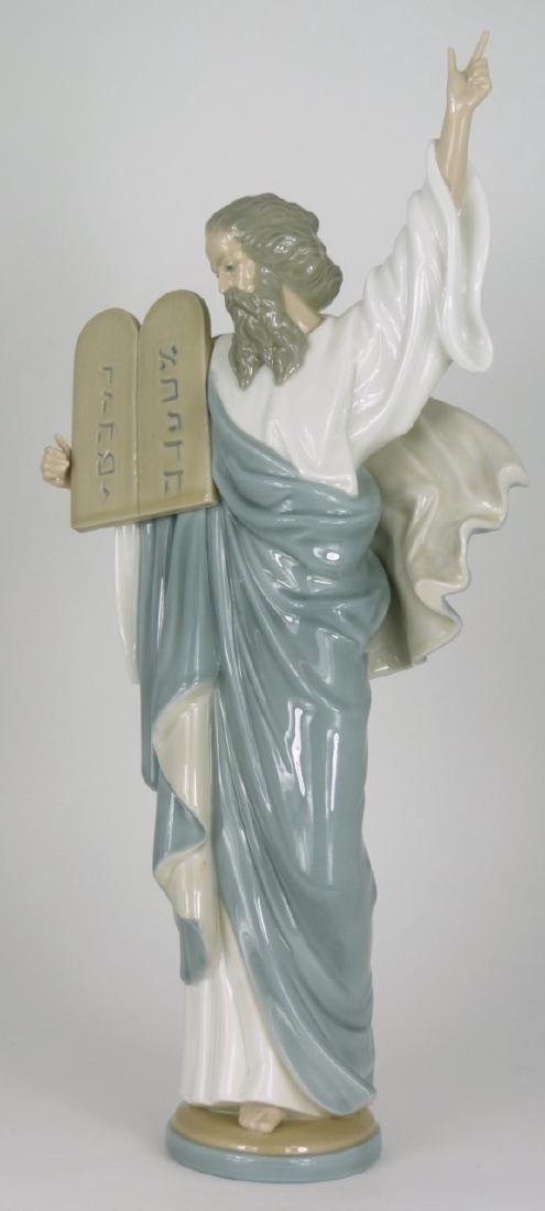 LLADRO 'MOSES' PORCELAIN FIGURINE - 5