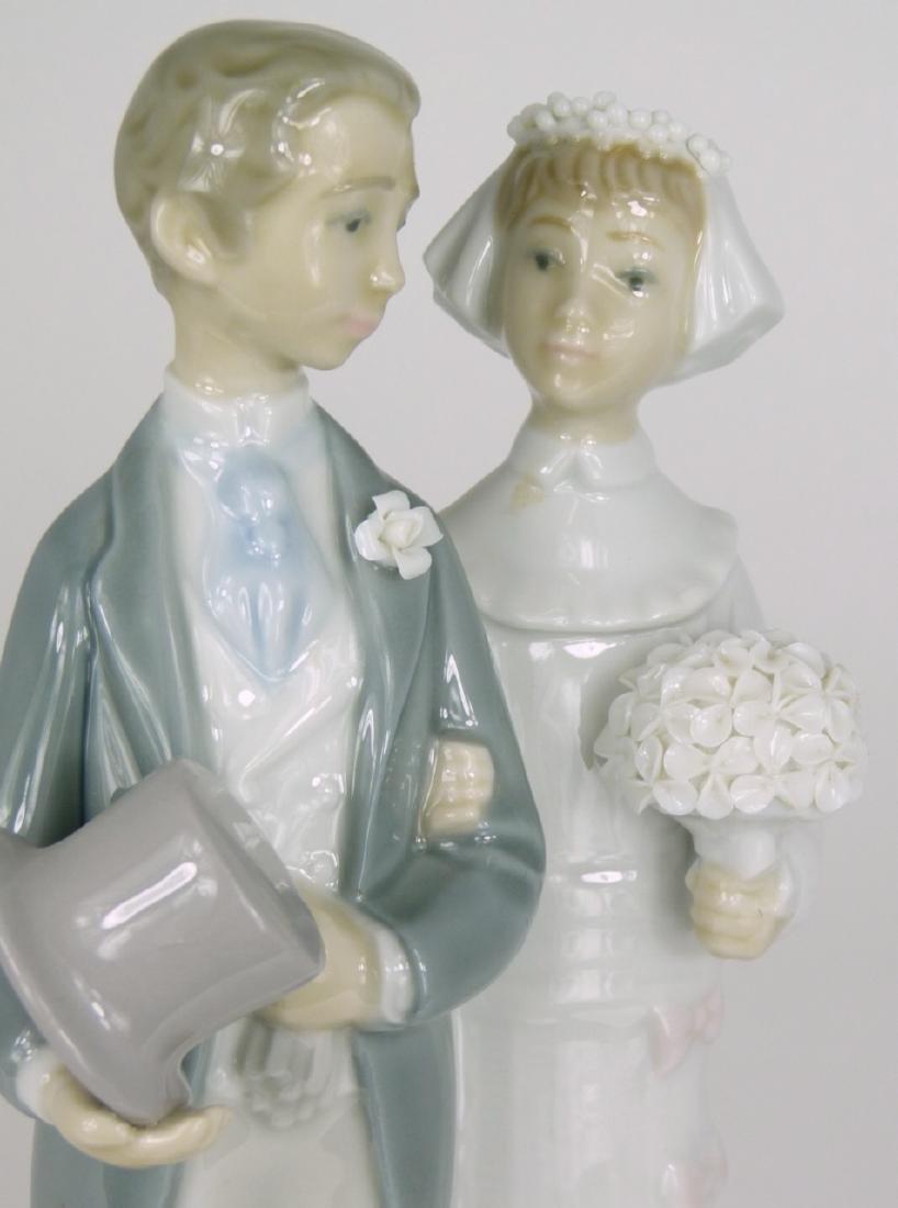 LLADRO 'WEDDING' PORCELAIN FIGURINE - 5
